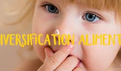Tableau de diversification alimentaire pour bébé