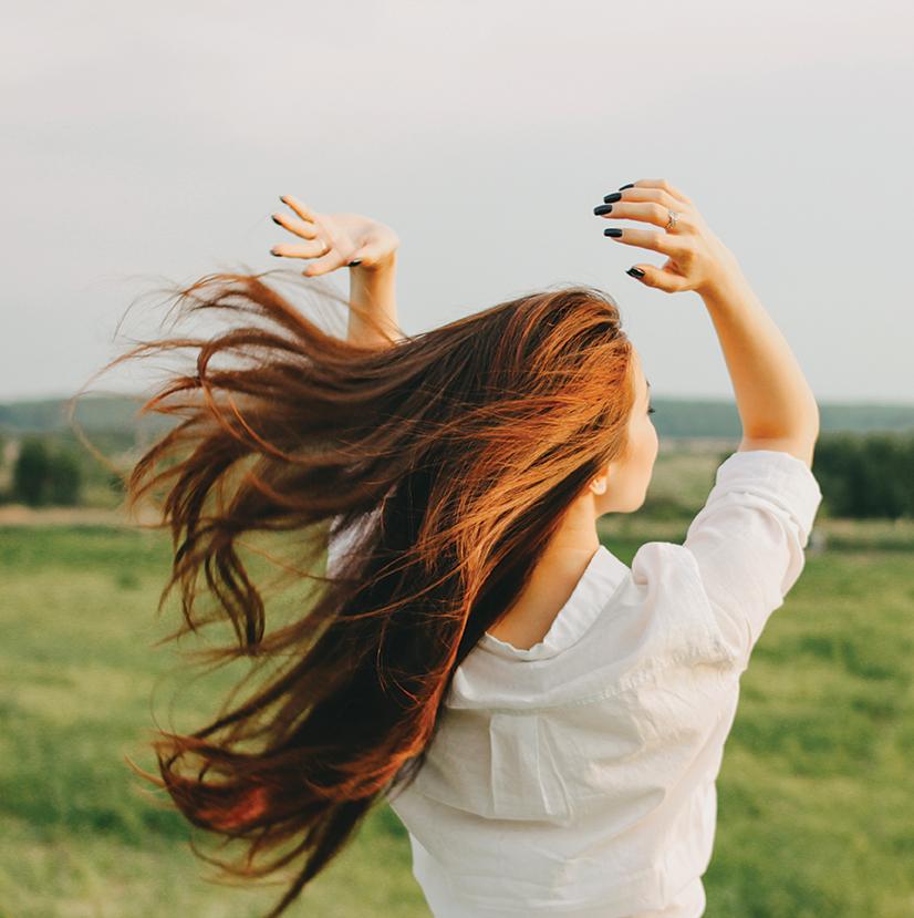 Des cheveux naturels et en pleine santé